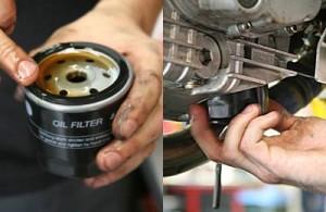 Смяна на моторното масло на двигателя – стъпка 8