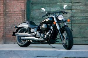 Силният дух на Honda Shadow 750 Black Spirit 08
