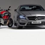 AMG и Ducati се срещнаха на пътя - видео 3