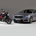 AMG и Ducati се срещнаха на пътя - видео 4