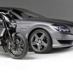 AMG и Ducati се срещнаха на пътя - видео 5