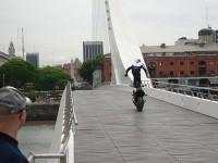 Стънт на Крис Пфайфър в Буенос Айрес 3