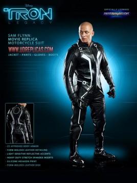 Мотоциклетният екип Tron Legacy 6