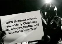 Коледна картичка от BMW Motorrad