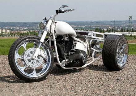От Harley Softail Evo 1994 г. в Chimera Trike