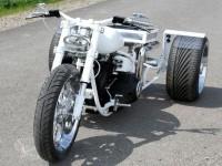 От Harley Softail Evo 1994 г. в Chimera Trike 04