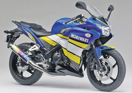 Moriwaki тунингова Honda CBR250R