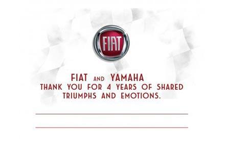 "Fiat каза ""сбогом"" на Yamaha и феновете"