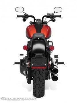 Видео и снимки на Harley Blackline 02