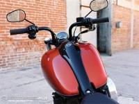 Видео и снимки на Harley Blackline 07