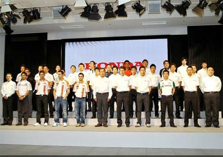 Honda представи спортната си програма в Токио