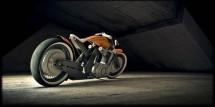 Модерен ретро мотоциклет от Естония 01
