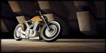Модерен ретро мотоциклет от Естония 02