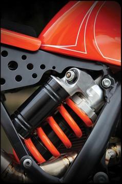 От супермото в Кафе рейсър - KTM 525 EXC Café Moto 07