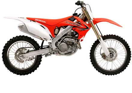 Honda обнови гамата си за мотокрос
