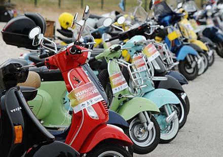 Световни дни на скутерите Vespa 2011