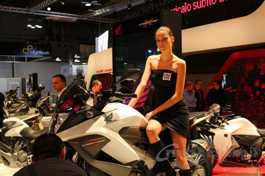 Шпионски снимки на мотора Honda Crosstourer 06
