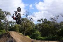 Първият опит за задно слато с Harley-Davidson Road King 06