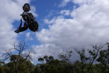 Първият опит за задно слато с Harley-Davidson Road King 07