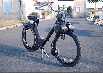 Мото-вело Solex без джанти и спици