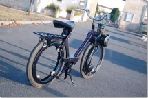 Мото-вело Solex без джанти и спици 01