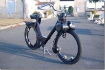 Мото-вело Solex без джанти и спици 02