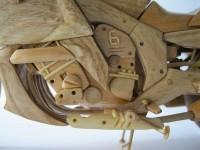 Дървеното мъниче BMW K1600GTL 11
