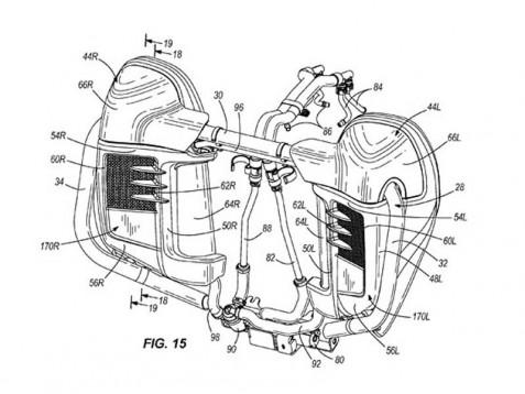 Туристическите модели Harley с патент за водно охлаждане 3