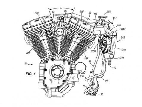 Туристическите модели Harley с патент за водно охлаждане 5