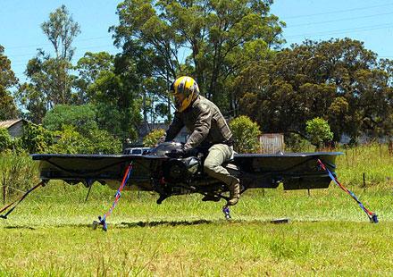 Кръстоска между мотоциклет и хеликоптер