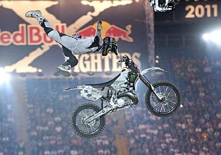 Нейт Адамс начело на Red Bull X-Fighters в Рим