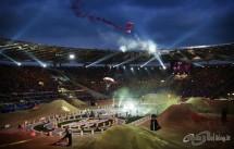 Нейт Адамс начело на Red Bull X-Fighters в Рим 08
