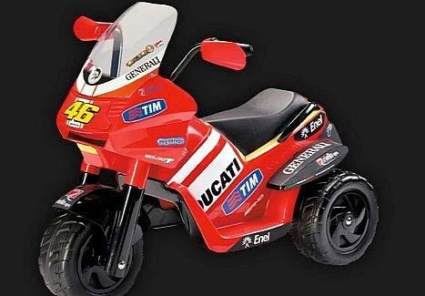 Мотоциклетче Ducati за деца 01