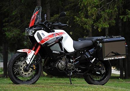 Мотоциклетът Yamaha Super Tenere със спортно бъдеще