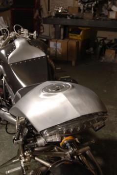 "Турбо къстъм мотоциклет ""Slugger"" 05"