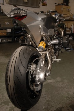 "Турбо къстъм мотоциклет ""Slugger"" 07"