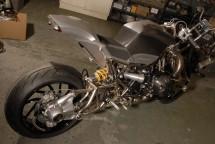 "Турбо къстъм мотоциклет ""Slugger"" 09"