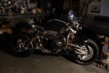 "Турбо къстъм мотоциклет ""Slugger"" 16"