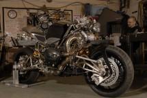 "Турбо къстъм мотоциклет ""Slugger"" 17"