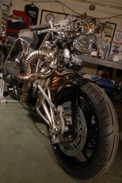 "Турбо къстъм мотоциклет ""Slugger"" 21"