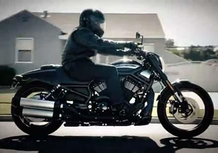 Промо видео на мотора Harley-Davidson Night Rod Special