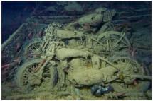 Класически мотоциклети от Втората световна война - изгубени в морето 03