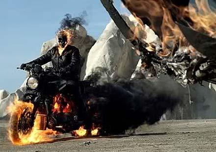 Мотори в киното: Ghost Rider: Spirit of Vengence
