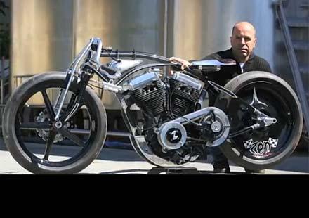 """Без спирачки с над 200 км/ч? С мотор Harley? Това е проектът """"Hagakure"""""""