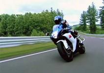 Промо видео на Suzuki GSXR 750 2011