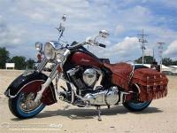 Първият мотор Indian Chief произведен от Polaris 01