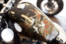 Изкуството на японското кимоно върху мотоциклет ZERO 01