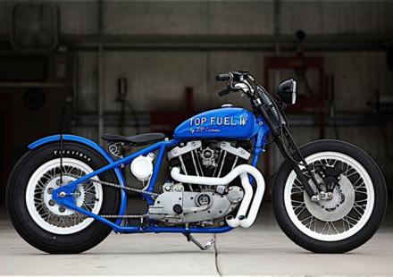 Къстъм мотициклет Top Fuel II от DP Customs