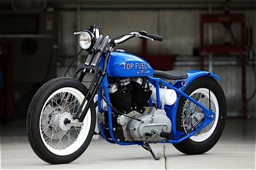 Къстъм мотициклет Top Fuel II от DP Customs 01