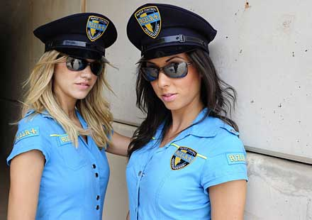 Секси мацки в падока на Арагон GP